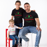 CUSTOM FAMILY NAME Christmas matching shirts, Family Christmas matching outfits