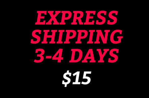 EXPRESS shipping 3-4 days WORLDWIDE