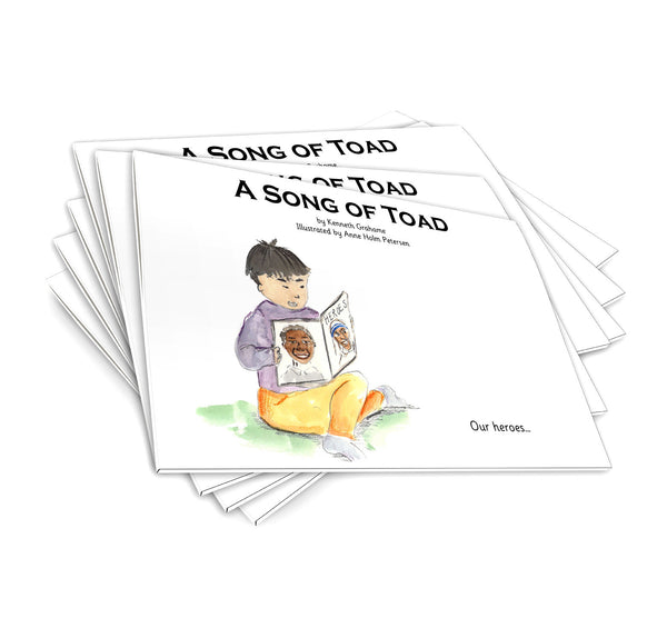 A Song of Toad - pack of 6
