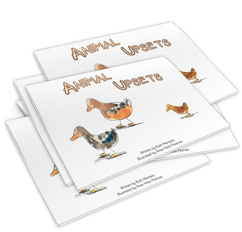 Animal Upsets - pack of 6