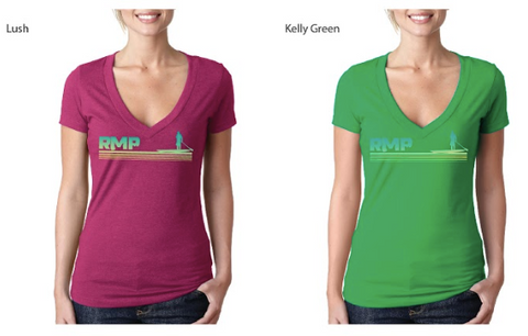 Women's V-Neck Paddler T-Shirt