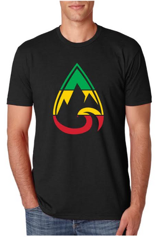 Men's Rasta Teardrop