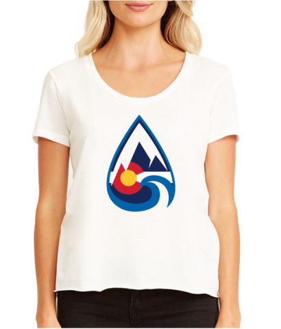 Women's Colorado Teardrop Tee