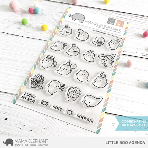 MAMA ELEPHANT: Little Boo Agenda