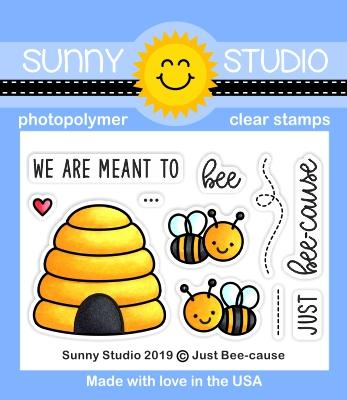 SUNNY STUDIO: Just Bee-cause
