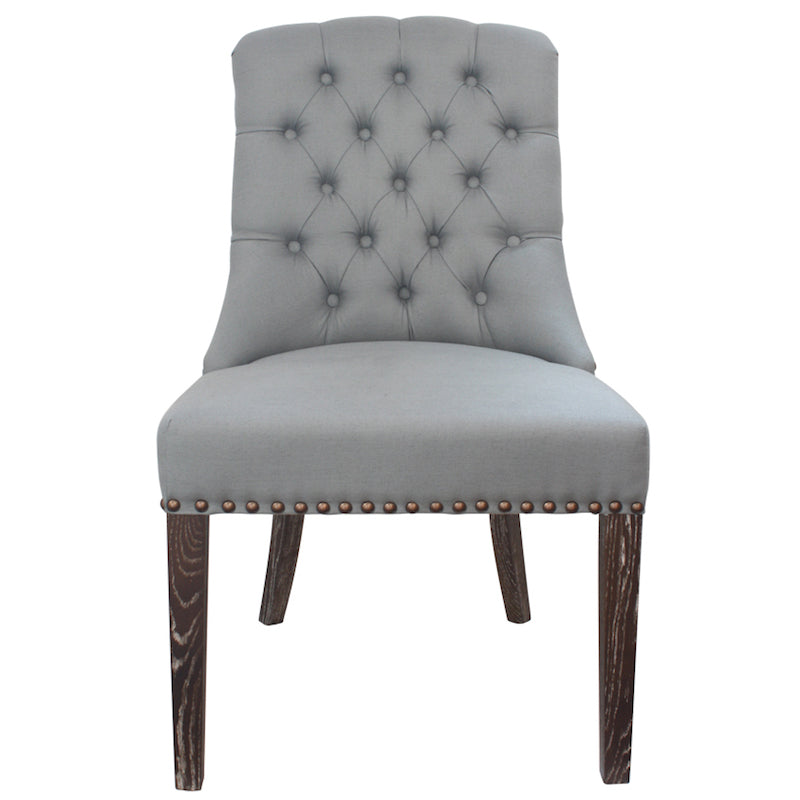 Philippe Dining Chair Grey Blue