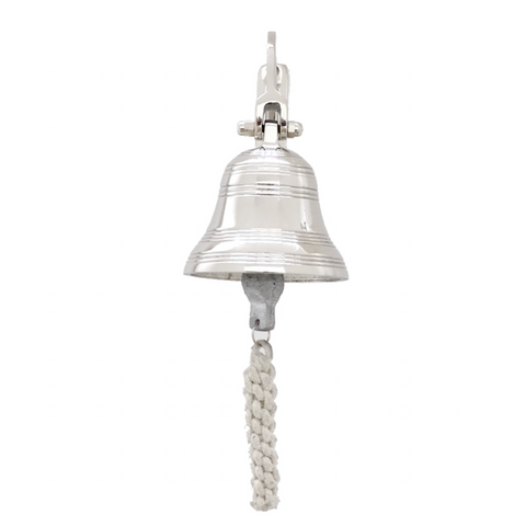 Nickel Ship Wall Bell