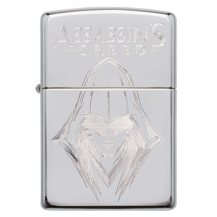 Zippo chrom poliert Assassins Creed