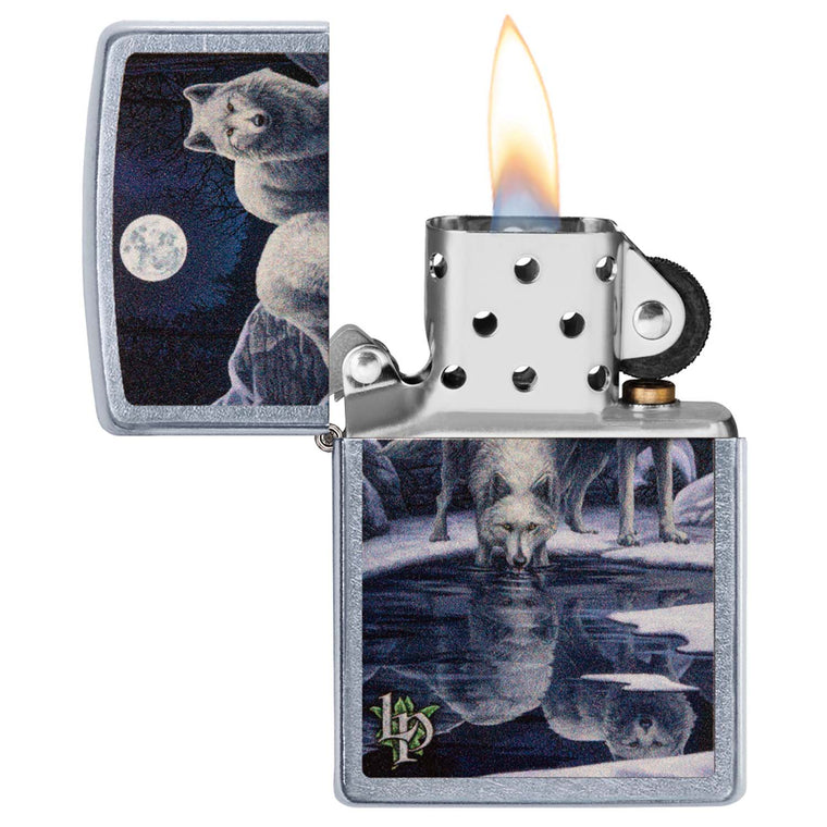 Zippo Street chrom Lisa Parker Warriors of Winter