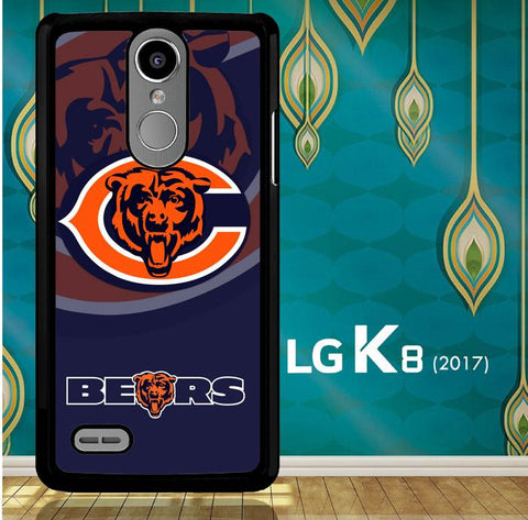 Chicago Bears Logo X3230 LG K8 2017 / LG Aristo / LG Risio 2 / LG Fortune / LG Phoenix 3  Case