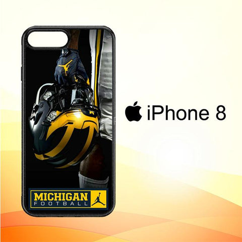 michigan wolverines X6215 iPhone 8 Case
