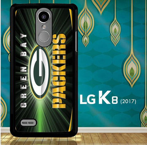 Green Bay Packers G0136 LG K8 2017 / LG Aristo / LG Risio 2 / LG Fortune / LG Phoenix 3  Case