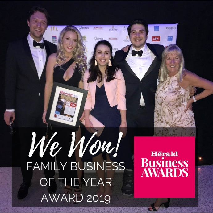We Have Won The Herald Award's Family Business Of The Year 2019!