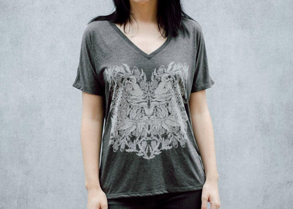 Bird and Branch Slouchy Women's V-Neck