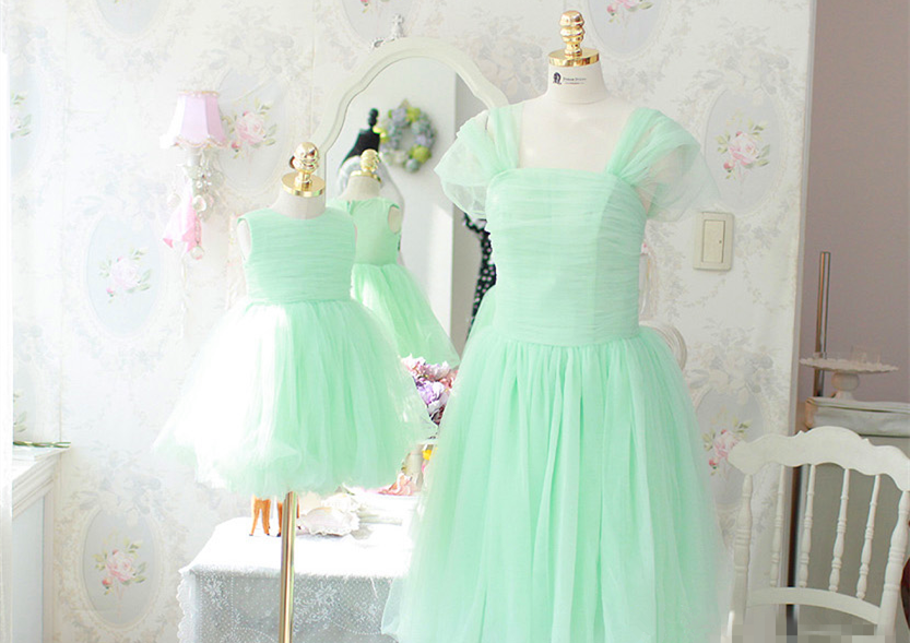 Elegant Mother Daughter Matching Dress MD-DD004