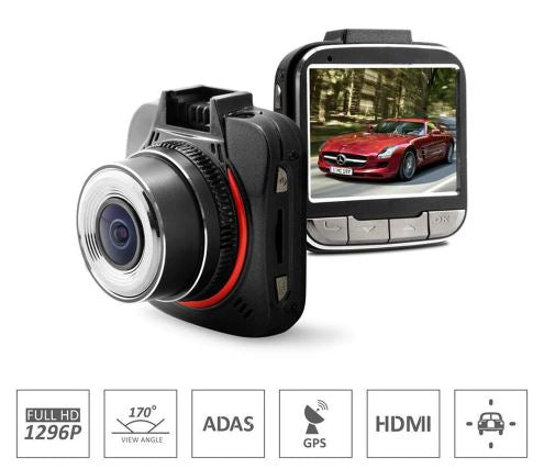 FalconEye 1296P Dash Cam with Optional GPS! Awesome Video!