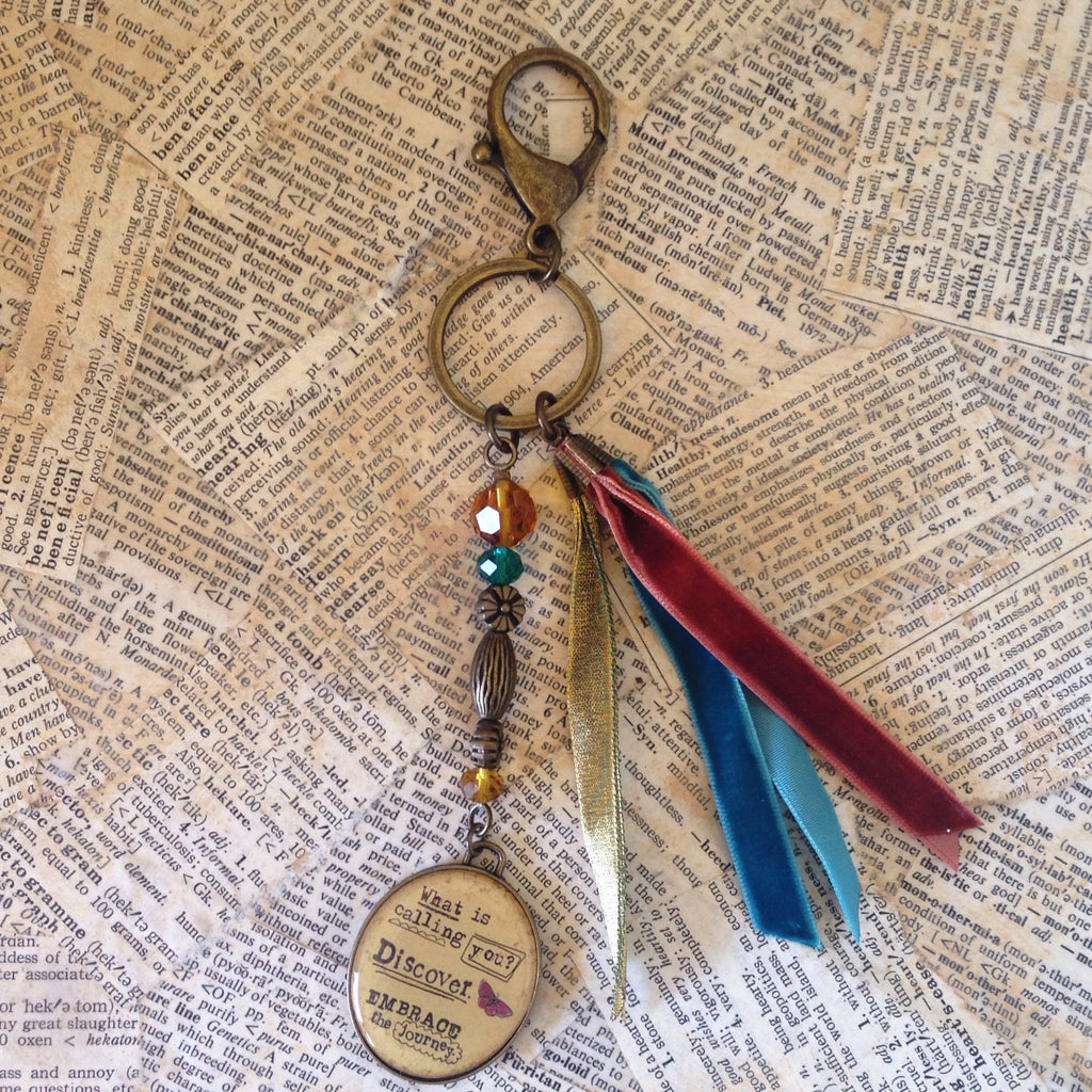 key fob: believe in possibility