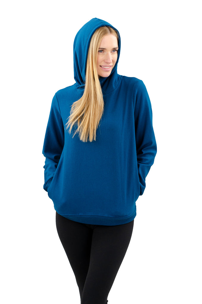 Cloutier - womens - hoodie - moroccan