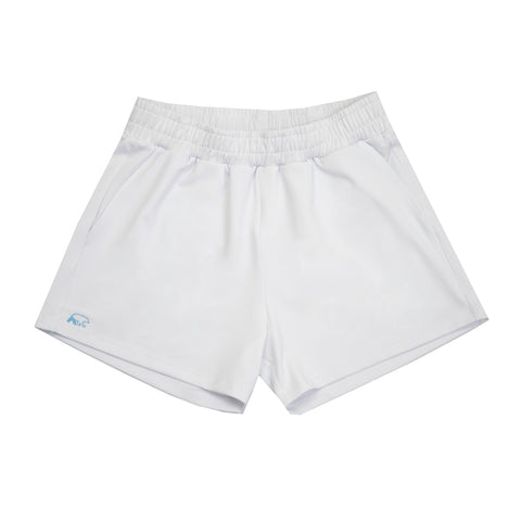banff athletica - womens - sport short - white