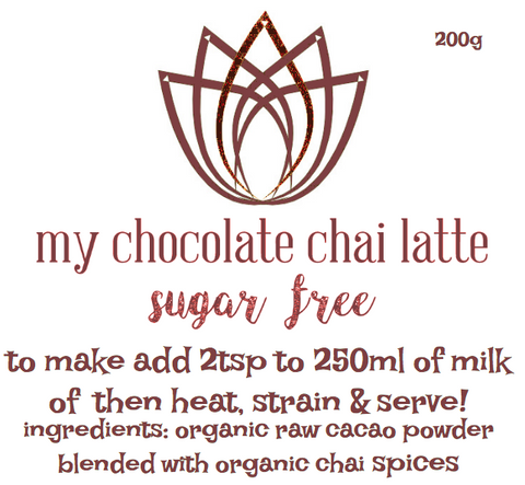 My Chocolate Chai (sugar free) 200g