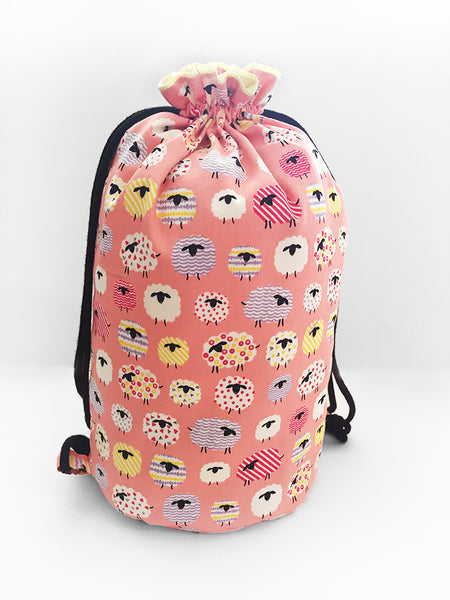 PRE-ORDER Carrier Sling Pink Sheeps