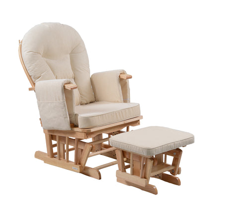 Serenity in Natural Glider Maternity Chair