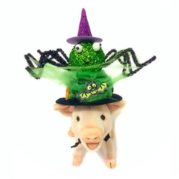 Ready To Ship--Spooktacular Top Hat - Snort Life, Mini Pig Clothes