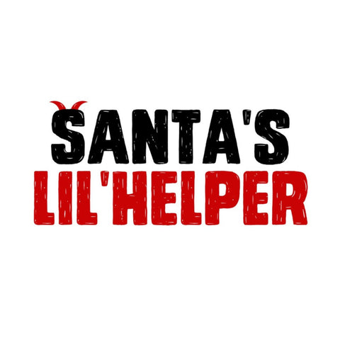 Santa's Lil'Helper T-Shirt - Snort Life, Mini Pig Clothes