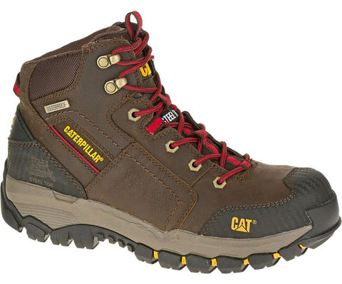 CAT® NAVIGATOR MID WATERPROOF STEEL TOE WORK BOOT [P90614]