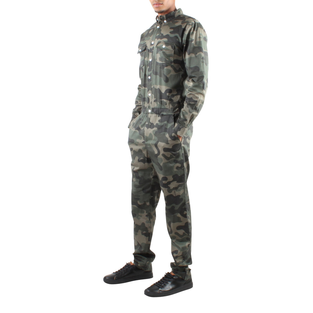 LONG SLEEVE CAMO JUMPER - Standard Issue NYC