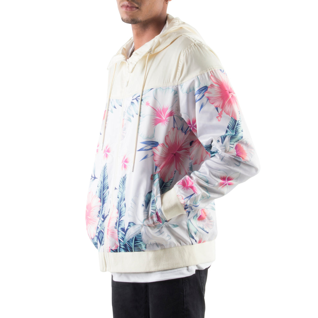 GREY/PINK LIGHT HOOD JACKET - Standard Issue NYC
