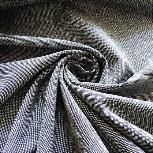 Robert Kaufman : Essex Homespun Chambray Linen - Pepper Thumbnail