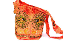 Load image into Gallery viewer, Saffron Happy Sun Jhola Bag