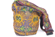 Load image into Gallery viewer, Purple Happy Sun Jhola Bag | Wild Lotus