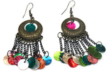 Load image into Gallery viewer, Festive Carnival Gypsy Earrings