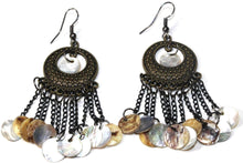 Load image into Gallery viewer, Sea Shell Carnival Gypsy Earrings