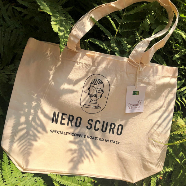 Nero Scuro Tote Bag - Organic Cotton
