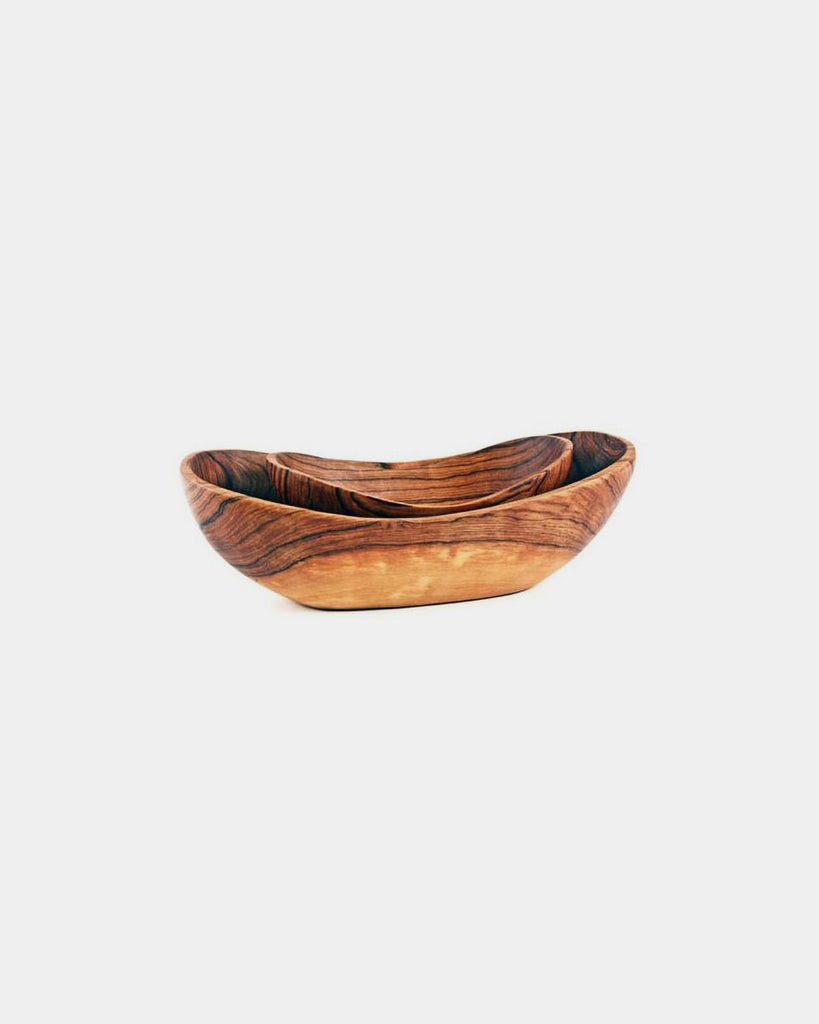 Wooden Serving Bowls - Hesby