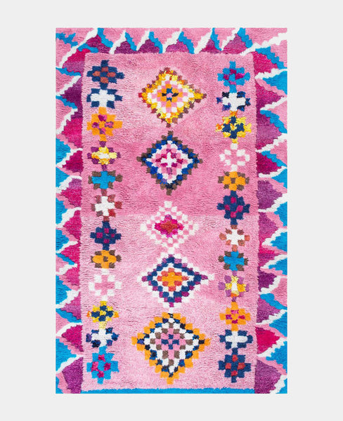 Lady Luck Moroccan Shag Rug - Hesby