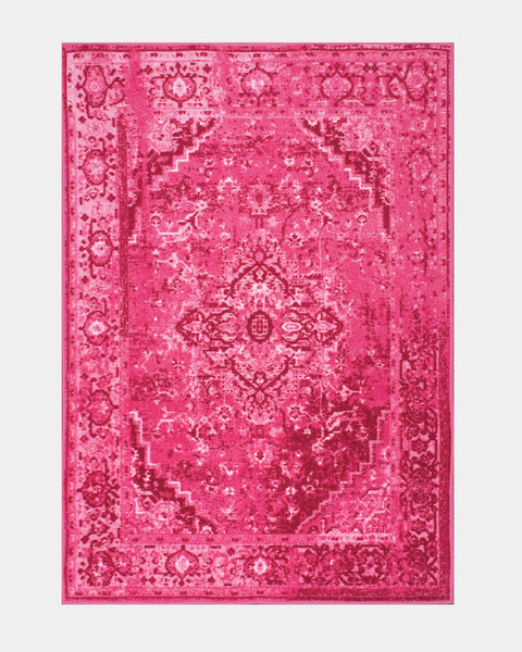 Alba Pink Overdyed Rug - Hesby