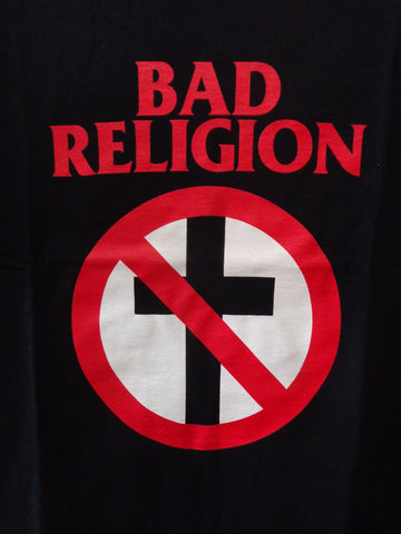 Bad Religion T-Shirt black with cross buster logo