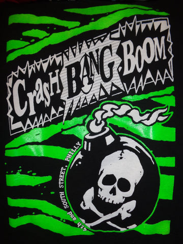 Crash Bang Boom Skull Bomb Tee