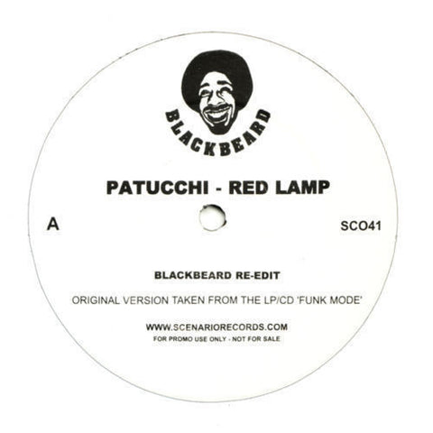 "Patucchi, Blackbusters - Red Lamp 12"" SC041 Scenario Records"