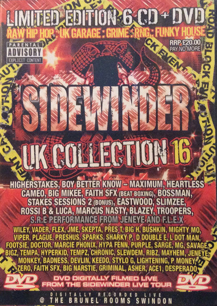 Sidewinder UK Collection 16 CD Pack