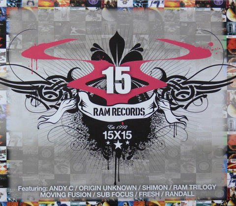 Various - Ram Records 15X15 (CD) RAM Records RAMMLP9CD