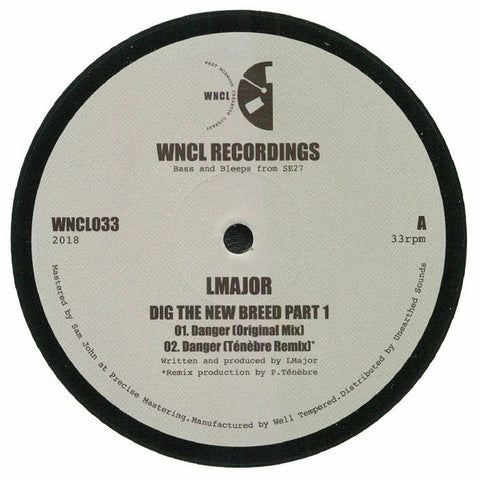 LMajor ‎– Dig The New Breed Part 1 - WNCL Recordings ‎– WNCL033