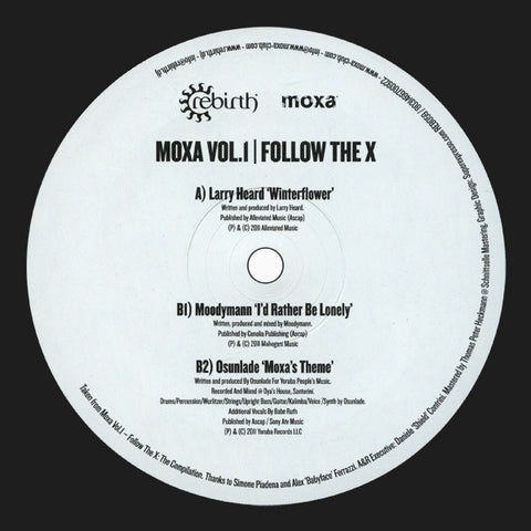 Various ‎– Moxa Volume 1 - Follow The X - Rebirth ‎– REB059