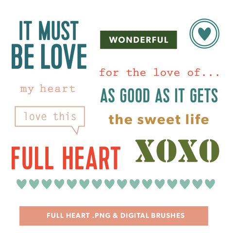 Full Heart Digital Files