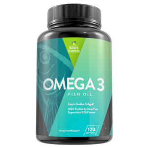 Omega 3 Fish Oil 1700mg including 900 mg of EPA By Naturo Sciences, 120 softgel - Naturo Sciences