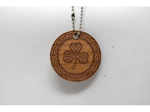 Keychain Celtic Knot and Clover KC-025 Laser Cut Shape